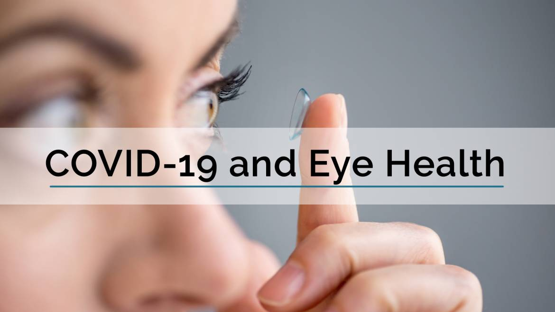 FAQ on COVID-19 and Eye Health