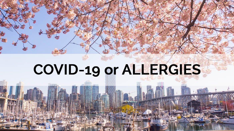 Seasonal Allergies, COVID-19 or the Flu